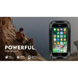 Love Mei Alumínium Fém Gorilla Üveg Ütésálló Vízálló tok iphone 7