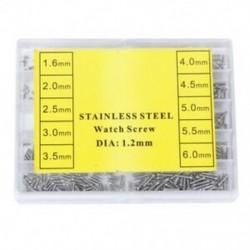 Appprox.1000db, 10 méretű, átmérőjű, 1,2 mm átmérőjű szemüveg / szemüvegjavító csavarok, Re A6F9
