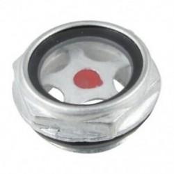 5X (26 mm-es férfi menetes fém légkompresszor olajszintű látóüveg V4K9)