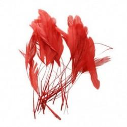 1X (30 darabos festett kakas kagylótoll - 4,3 - 7,5 hüvelykes piros W9J2)
