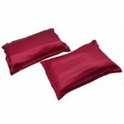 1X (2 szuper puha szatén selyem párnahuzat   Organza védőtasak-48 N5G2