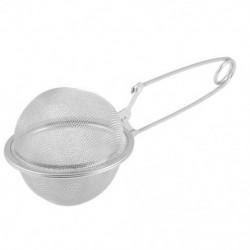 1X (rozsdamentes acélból készült, 65 mm-es Dia Snap fogantyúval gömbös teagolyó-infúziós fűszer G5P8