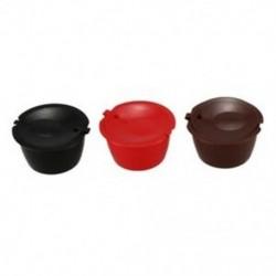 i cafilas 3 Pack Dolce Gusto újratölthető kávékapszulák Újrahasznosítható kávé Pod P4T9