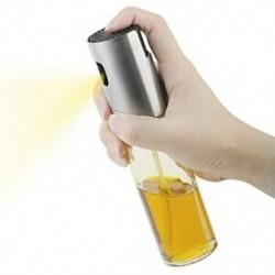 1X (Hordozható olívaolaj-permetező adagoló főzéshez / főzéshez / salátához / rozsdamentes Ste B4D6-hoz)