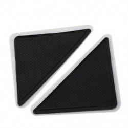 4 db / készlet szilikon fürdõszőnyeg padló csúszásgátló asztali ajtópálca padlószőnyeg szőnyegek I7O8