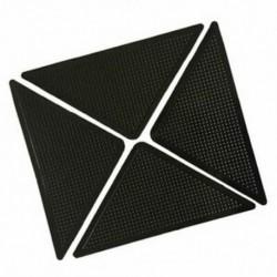 4x szőnyeg szőnyegfogók Csúszásmentes csúszásgátló, újrafelhasználható, mosható szilikon Gr N6G9