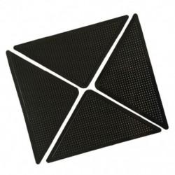 4x szőnyeg szőnyegfogók Csúszásgátló csúszásgátló, újrafelhasználható, mosható szilikon Gr X1B5