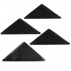 4 db szőnyegszőnyeg szőnyegfogók Csúszásmentes sarkokkal Csúszásgátló Mosható Silico R2N9