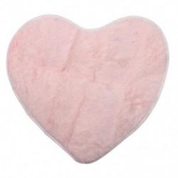 Divat modern dekoratív bozontos szív puha műszőrme szőnyeges báránybőr hálószoba B1P4