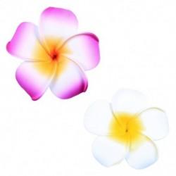 6 db női Plumeria virágos hajvágó kiegészítők Barrette hawaii esküvő Q1O6