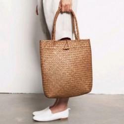 andbags Tote Bags kézitáska fonott rattan táska válltáska bevásárló szalma táska O1I1