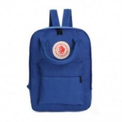 Sötétkék - Vászon hátizsákok multifunkcionális női hátizsákok iskolai táskák lányoknak Stud Z8S1