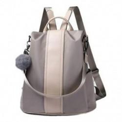 Női hátizsák pénztárca vízálló lopásgátló hátizsák könnyű iskola Shou X8F6