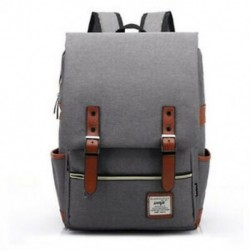 szürke - Divatvászon napi hátizsákok nagy kapacitású laptophoz, Casua K2M5 laptophoz