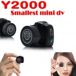 Mini HD digitális DV kamera Videó felvevő videokamera * Y2000