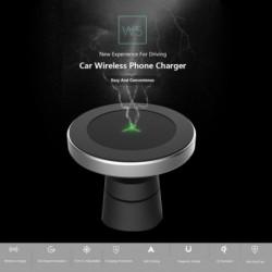 1x 360 fokos forgatású autós vezeték nélküli töltő HUAWEI iPhone XsMax / Xs / Xr / 8plus Qi mágneses vezeték nélküli