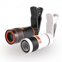 1x Mobiltelefon objektívek Universal Clip 8x Kamera Zoom optikai teleszkópos Samsung iphone huawei xiaomi