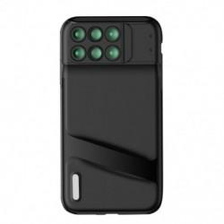 1x Újdonság iPhone XS MAX kettős kameralencse, 6 az 1-ben a halszem széles látószögű makró objektívéhez, az iPhone XS