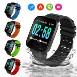 1x Vízálló Sport intelligens óra vérnyomás pulzusmérője  Huawei iPhone Android készülékhez