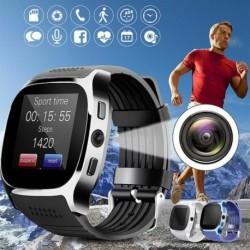 1x Bluetooth intelligens óra telefonkészülék SIM FM lépésszámláló Android IOS iPhone Samsunghoz