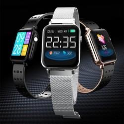 1x Vízálló Bluetooth intelligens óra pulzusmérő iOS Androidra
