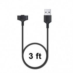 1x Kompatibilis Fitbit Ionic karkötő töltőkábel 100cm