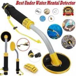 1x 30 méteres víz alatti vízálló reaktor LED figyelmeztető fémdetektor eszközök hangjelző vibráció