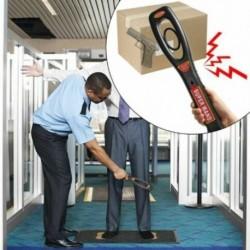 1x Nagyon érzékeny kézi biztonsági ellenőrzésű fémdetektor