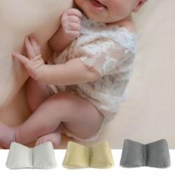 1x Újszülött fényképezés pillangó párna gyermek pamut fotós kellék kiegészítő