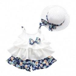 1x kislány lenge nyári szép aranyos baba ruha kalappal alkalmi ruha