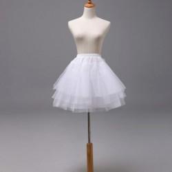 1x női divatos alkalmi tutu szoknya 3 rétegű