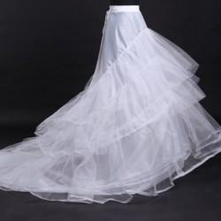 1x Női Két karika Női esküvői alsóruha alsószoknya menyasszonyi ruha alá
