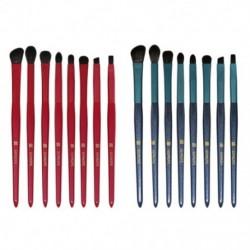 SEPROFE 9db színes kozmetikai alapozó szemhélyárnyaló smink ecset kefe szett készlet