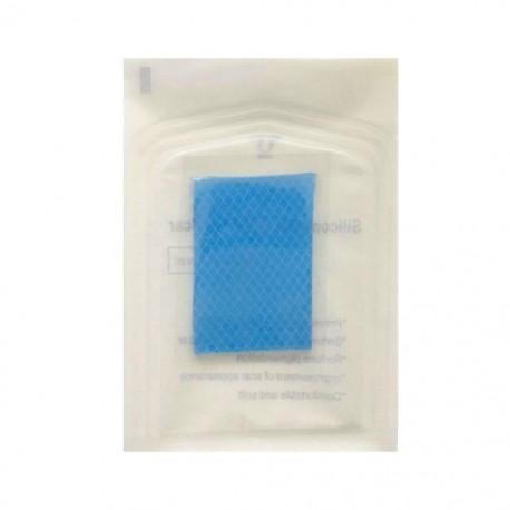 3,5 * 5 cm-es öntapadós bőrkorrektor bőrjavító ellátott szilikon gél-eltávolító heg lap terápiás javítás