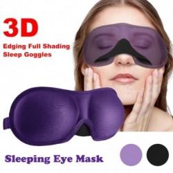 1x 3D lágy szemmaszk árnyékoló fedél Utazás pihenés Relaxáló alvás szemvédő maszk