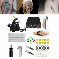 1x Tattoo Machine Kit Tool Teljes tetoválás felszerelés kezdő