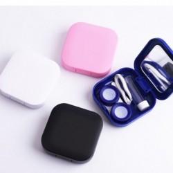 1x Hordozható cukorka színes kontakt lencse tartó tároló doboz