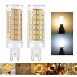 1x LED izzó G9 E11 E12 E14 E17 BA15D 9W DC 110V 220V 2835 Kiváló minőségű villanykörte izzó lámpa égő