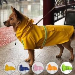 1x Vízálló kutyakabát kabát mellény esőkabát fényvisszaverő ruházat S