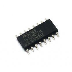 10db 74HC165D 74HC165 HC165 NXP SOP-16 SOP16 8 bites párhuzamos be / soros kimenet váltás