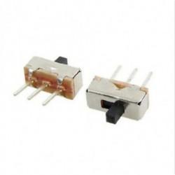 20db 3 érintkezős SS12D00G3 2 pozíció SPDT 1P2T PCB panel Mini függőleges csúszka kapcsoló