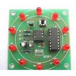 Szerencsés Rotary Suite Elektronikus DIY készlet gyártási alkatrészek és alkatrészek