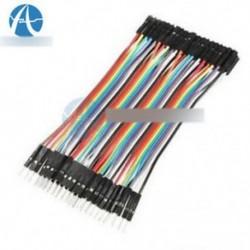 40db Dupont 10CM férfi-női jumper drótszalag kábel Arduino-hoz