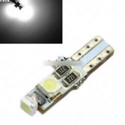 2db autó T5 37 58 70 73 74 6000K műszerfal mérőműszer 3 LED-es lámpa lámpa fehér
