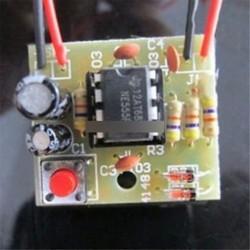 Perfect Doorbell Suite Elektronikus gyártási ajtó Bell DIY készlet NE555 Chip TOP