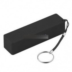 Fekete USB Power Bank töltőcsomag doboz Akkumulátor tok 1x18650 DIY hordozhatóhoz