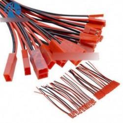 5 pár 100 mm-es JST csatlakozó dugasz kábel vonal férfi   nő az RC BEC Lipo akkumulátorhoz