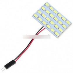 24x 5730 SMD LED-es világítópanel-kártya Autó belső Dome-olvasó lámpa 12V 3W