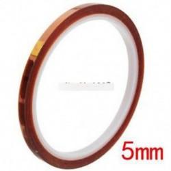 5mm 100ft BGA magas hőmérsékletű hőálló poliimid szalag