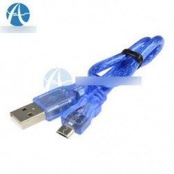 Kiváló minőségű, 30 cm-es USB 2.0 A férfi és mikro USB 5-pólusú férfi adat töltő kábel kábel
